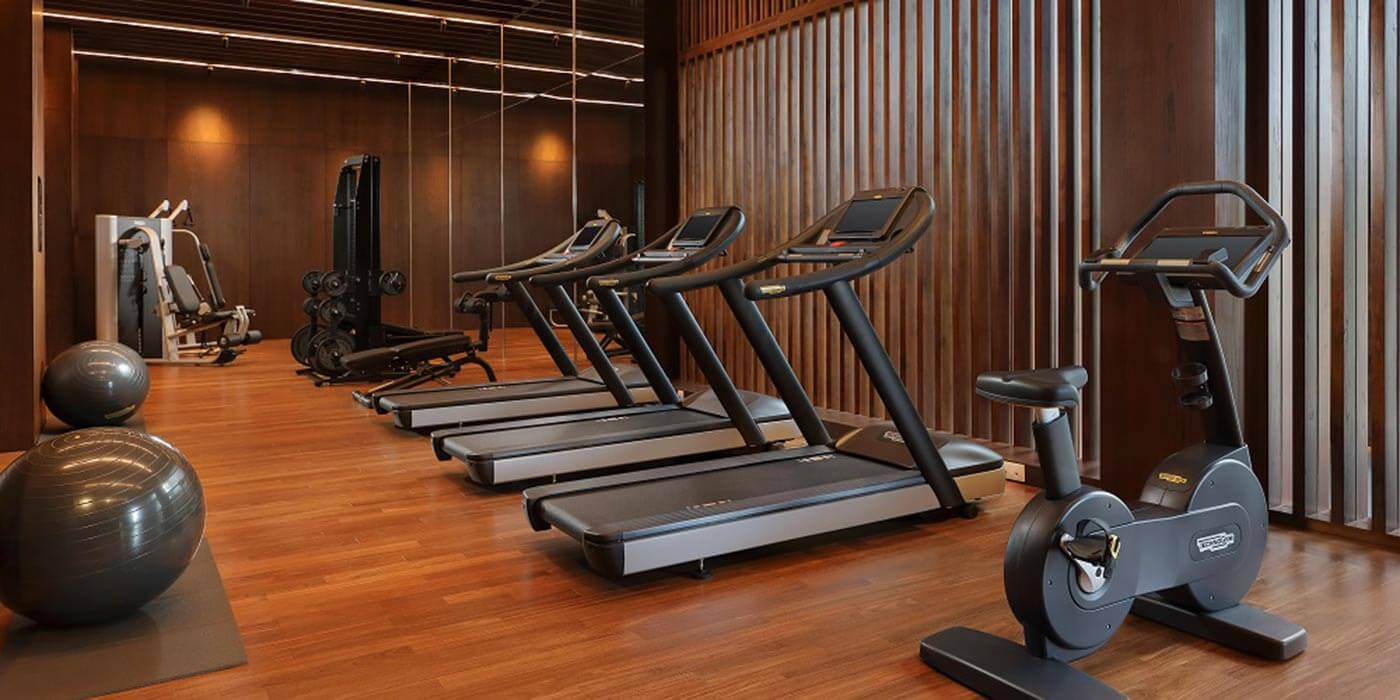 Fitness centre at Radisson Blu Bali Uluwatu