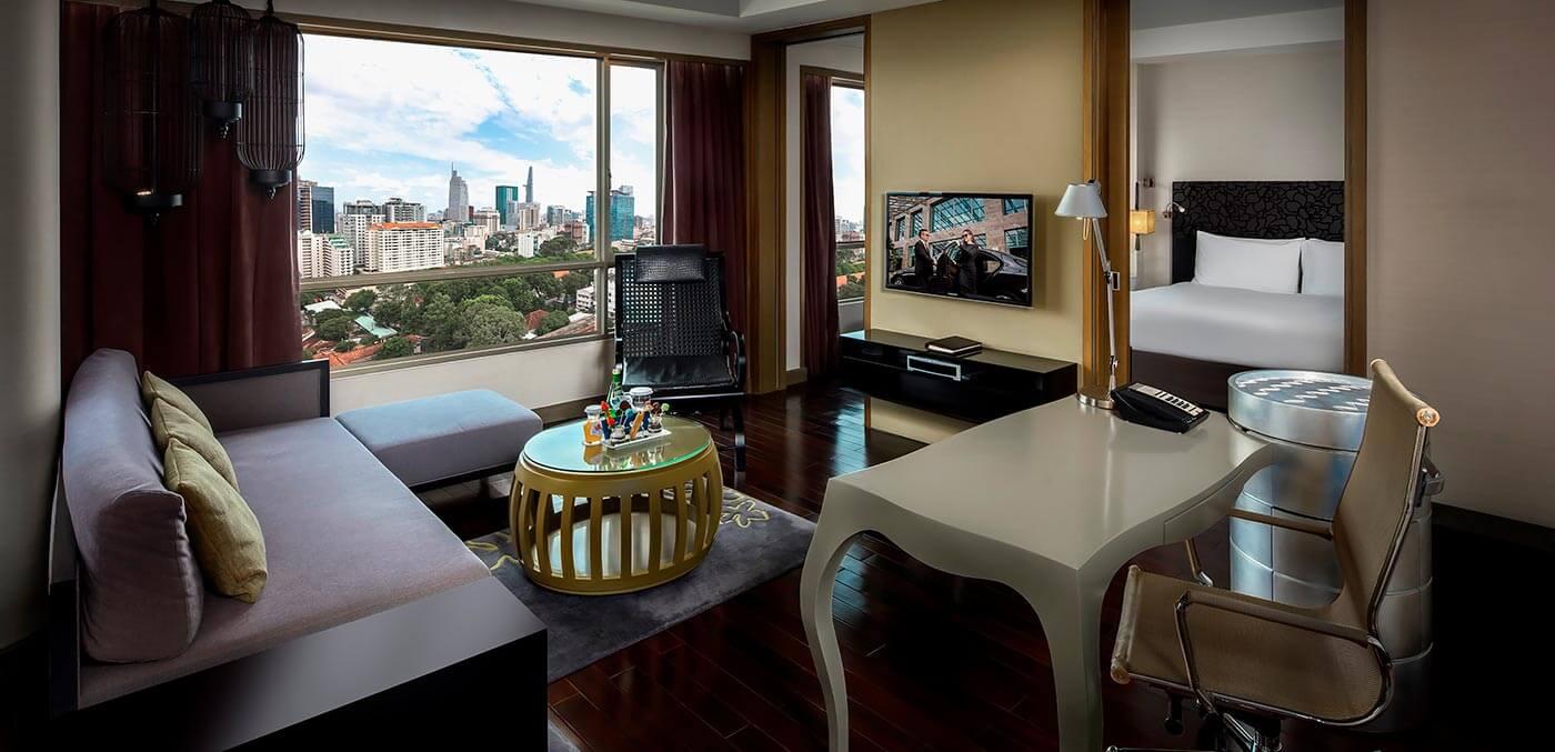 Living Room of the Prestige Suite, Sofitel Saigon Plaza