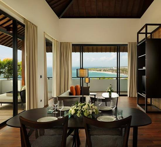 One Bedroom Suite - Ocean View at Radisson Blu Bali Uluwatu