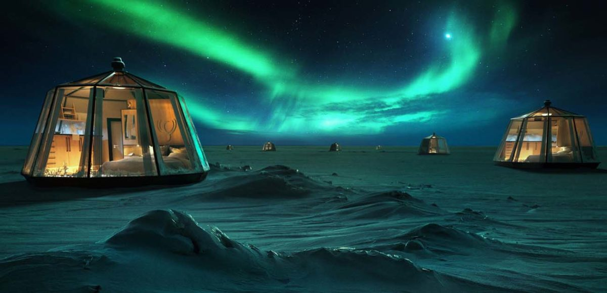 North Pole Igloos Hotel, Luxury Action