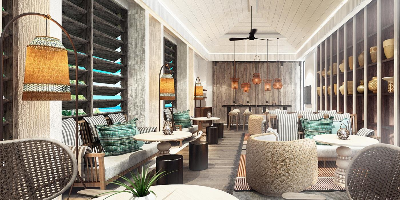 The Retreat, Lounge, InterContinental Maldives Maamunagau Resort