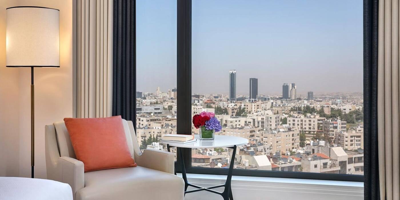 The St. Regis Amman deluxe room