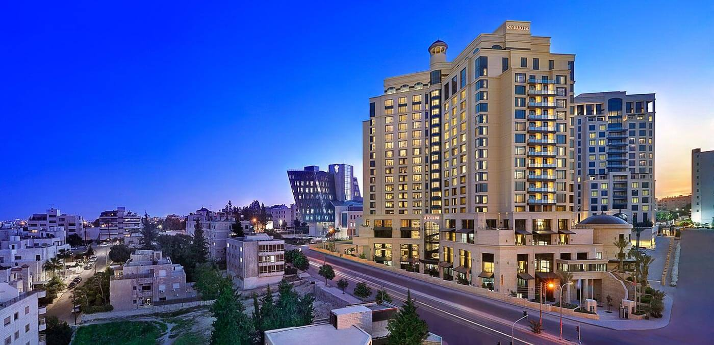 The St. Regis Amman exterior