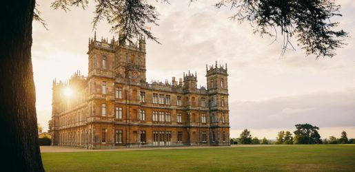 The castle from Downton Abbey