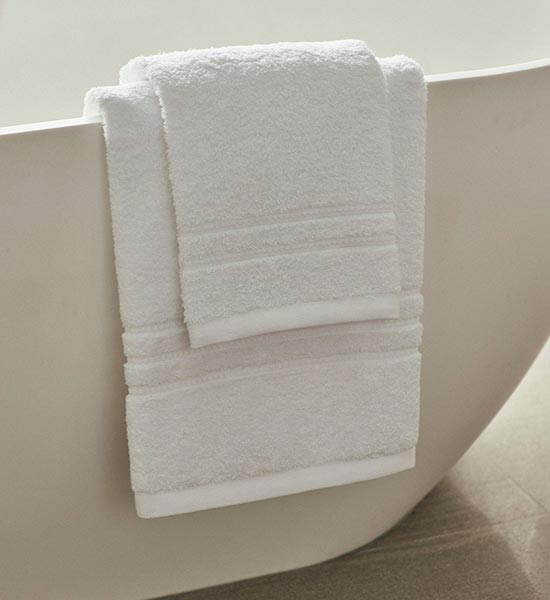 Towels from the Four Seasons at Home range