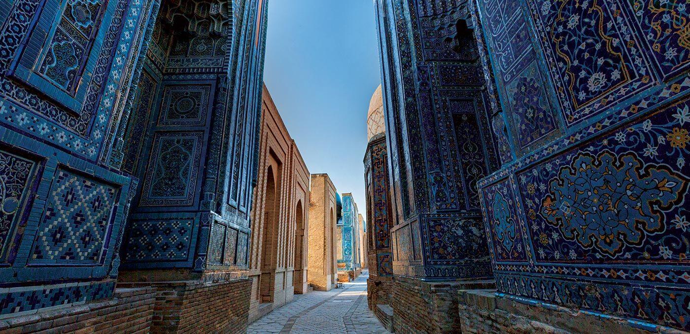 Uzbekistan Samarkand Shahizinda