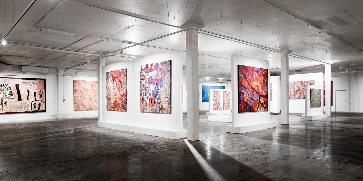 Gallery at Mitchelton Estate