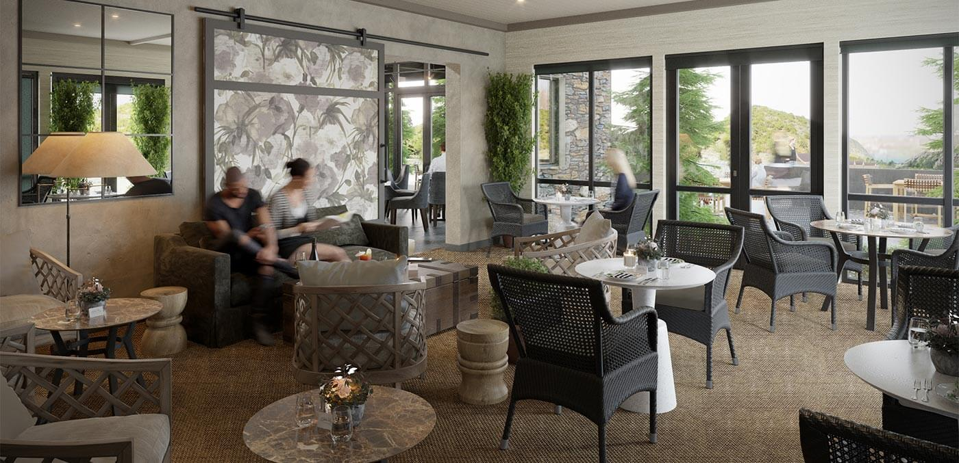 Gibbston Valley Lodge & Spa Conservatory Render