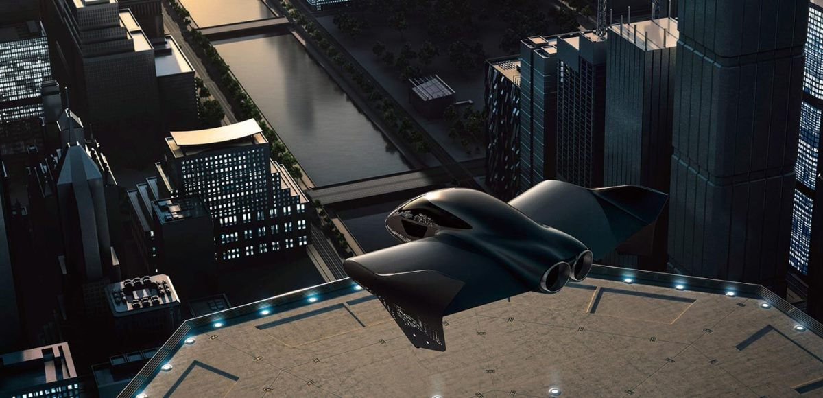 Porsche and Boeing flying car