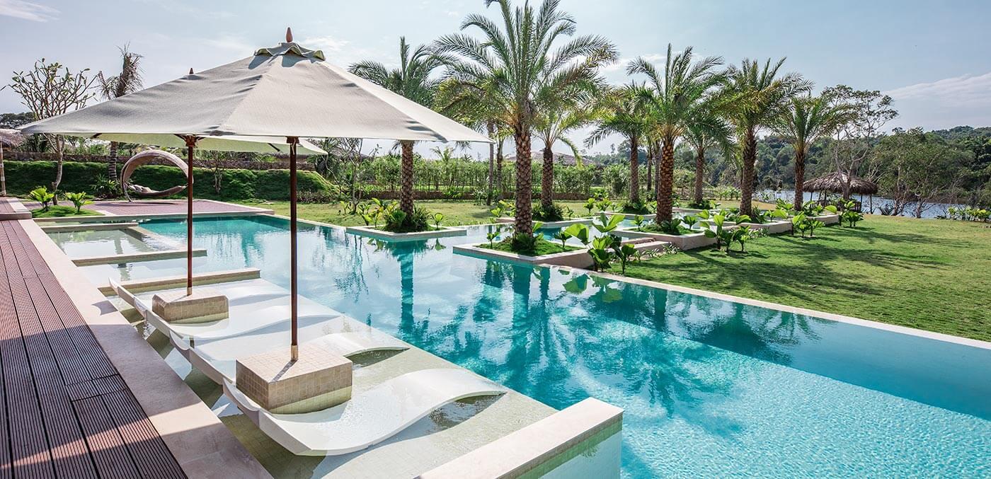 Presidential river pool villa at Fusion Phu Quoc