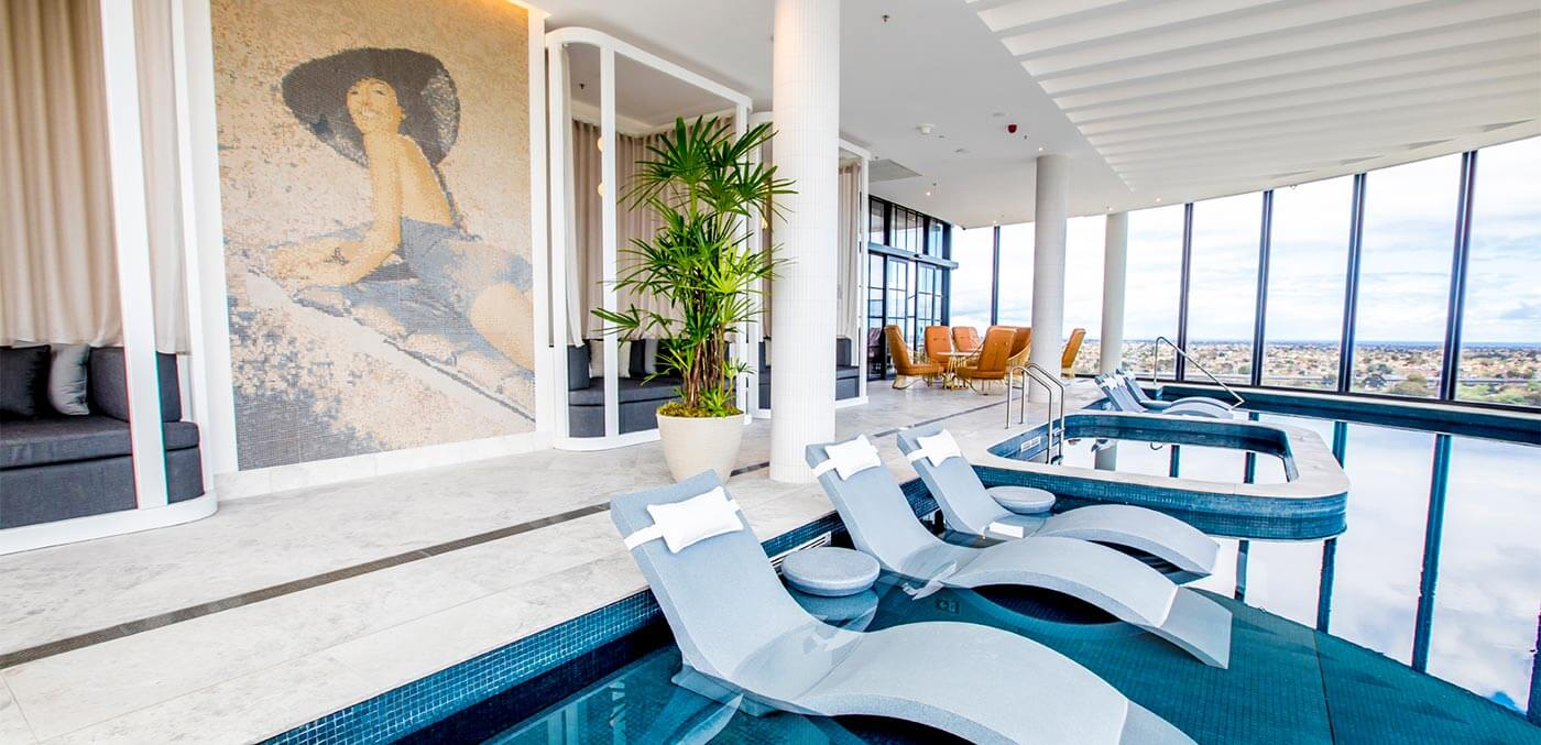Rooftop pool at Hotel Chadstone Melbourne - MGallery by Sofitel