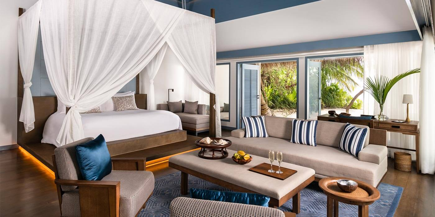 Suite at Raffles Maldives Meradhoo