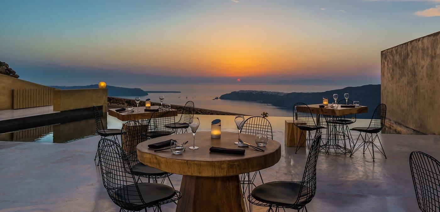 Throubi Restaurant, Andronis Concept Wellness Resort
