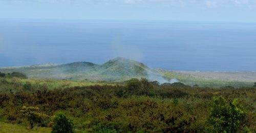 View from the project site at Six Senses Galapagos