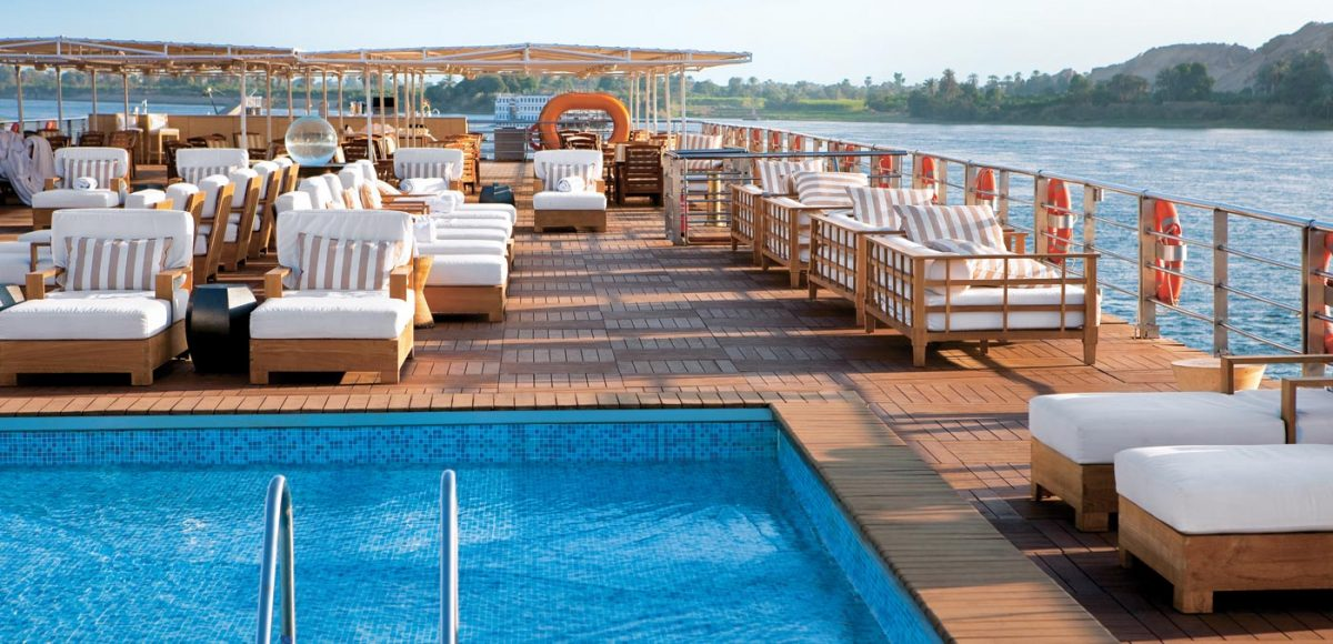 Uniworld's all-suite River Tosca takes guests to Egypt