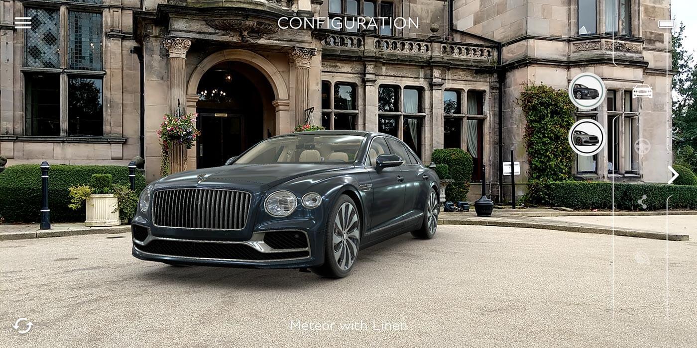 AR App Bentley