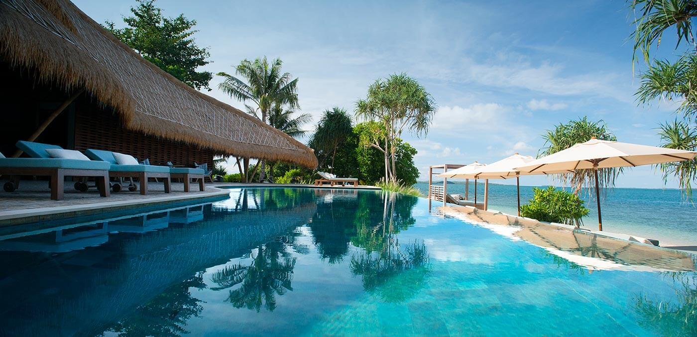 Cempedak Private Island, Pool