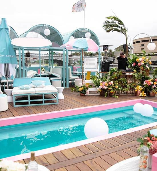 Ketel One Botanical launch at Arbory Afloat