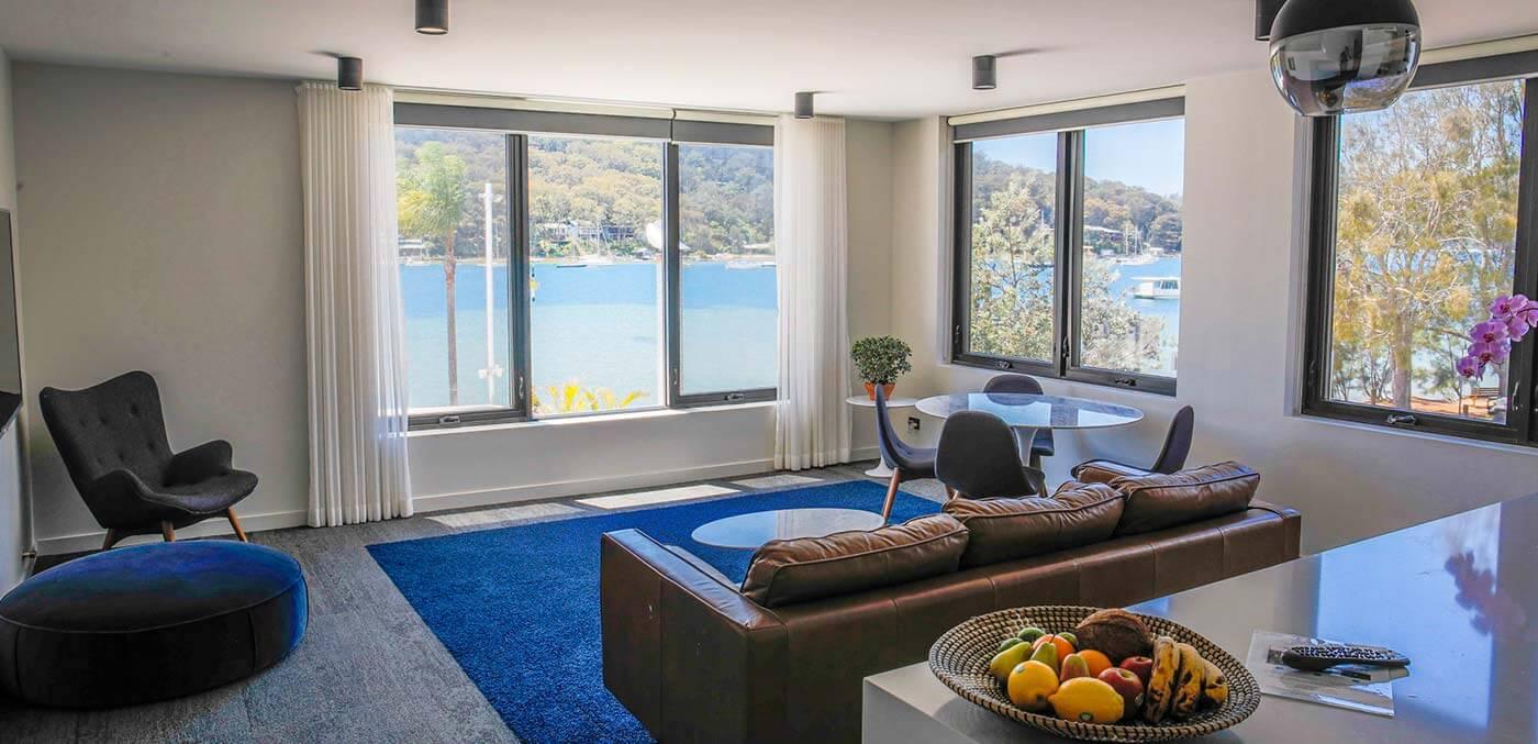 Lounge room views at PASADENA