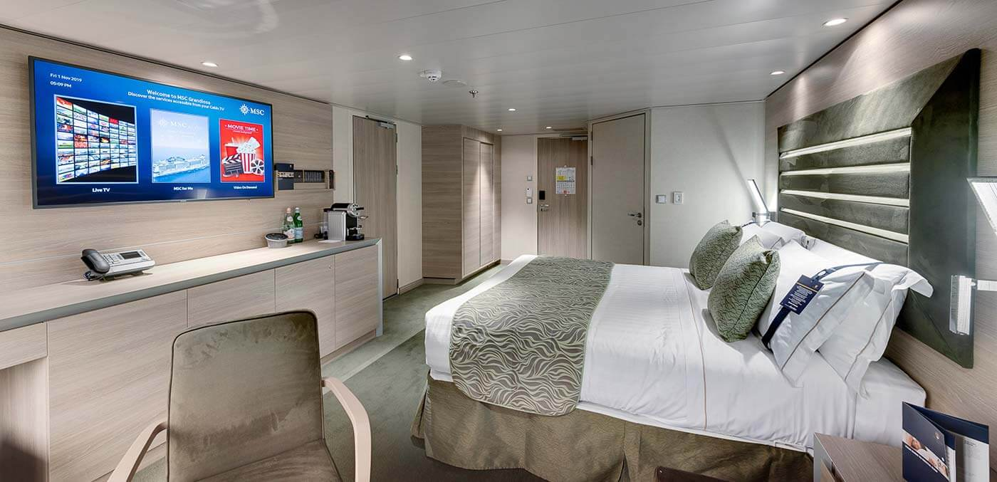 MSC Cruises debuts their latest ship, the state-of-the-art ...
