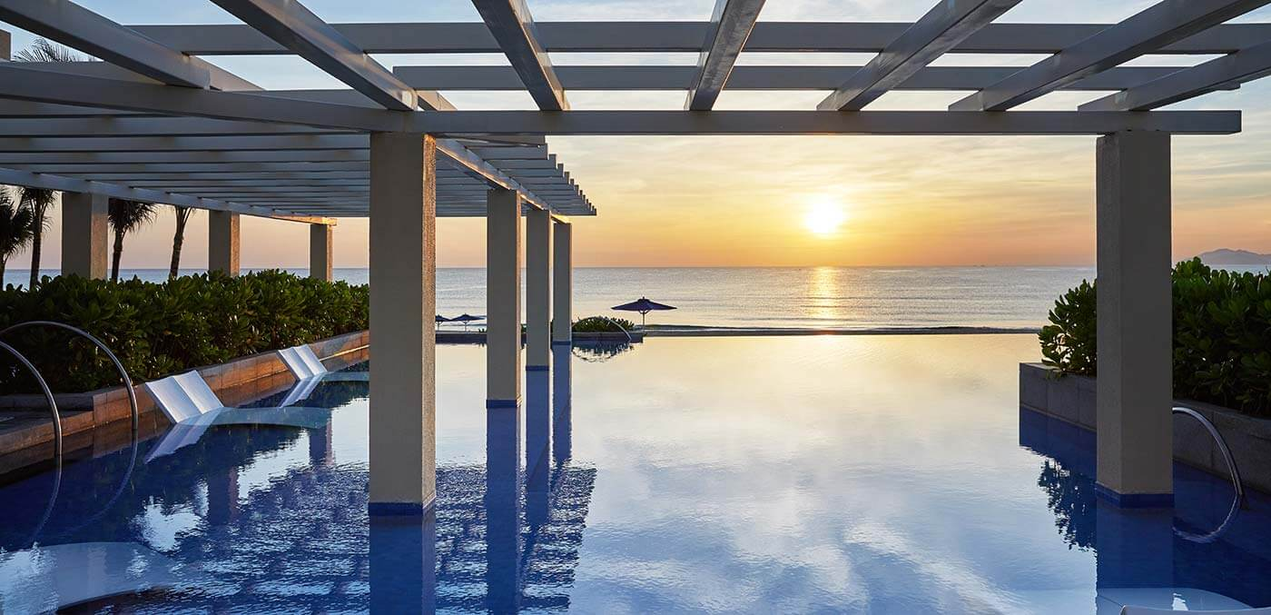 Sunrise at Sheraton Grand Danang Resort