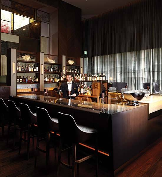 The sultry BarS at the top of Ginza's Shiseido Building