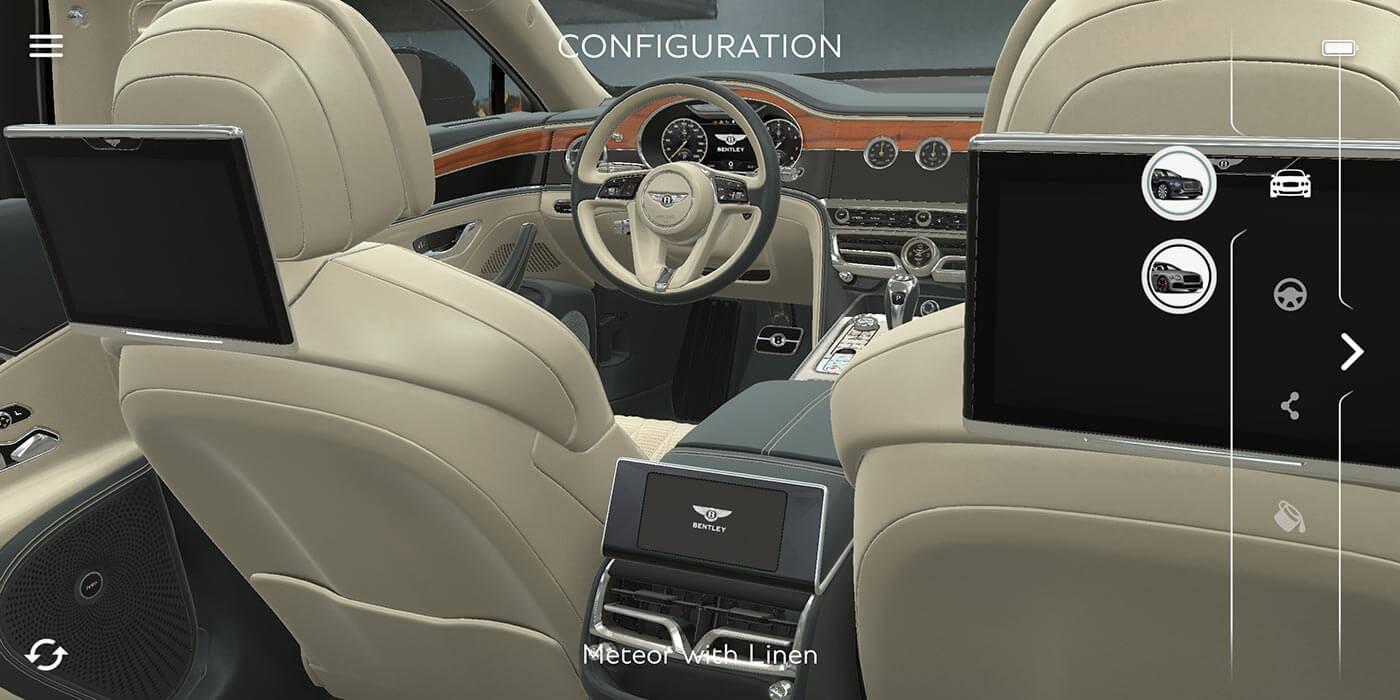Virtual tour via Bentley App