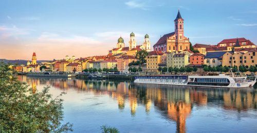 APT's ʻMagnificent Europe' cruise stops in scenic Passau