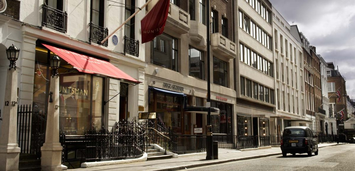 Huntsman & Sons 11 Savile Row