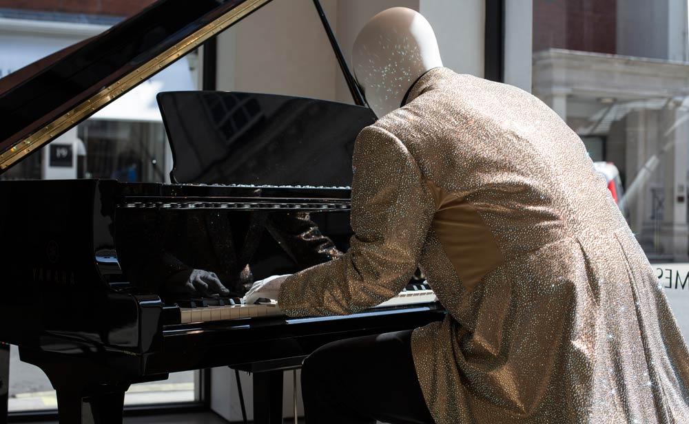 Elton John costume exhibition at Richard James