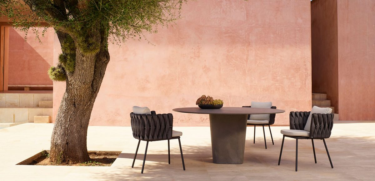 Living shot of Tao Table from Cosh Living