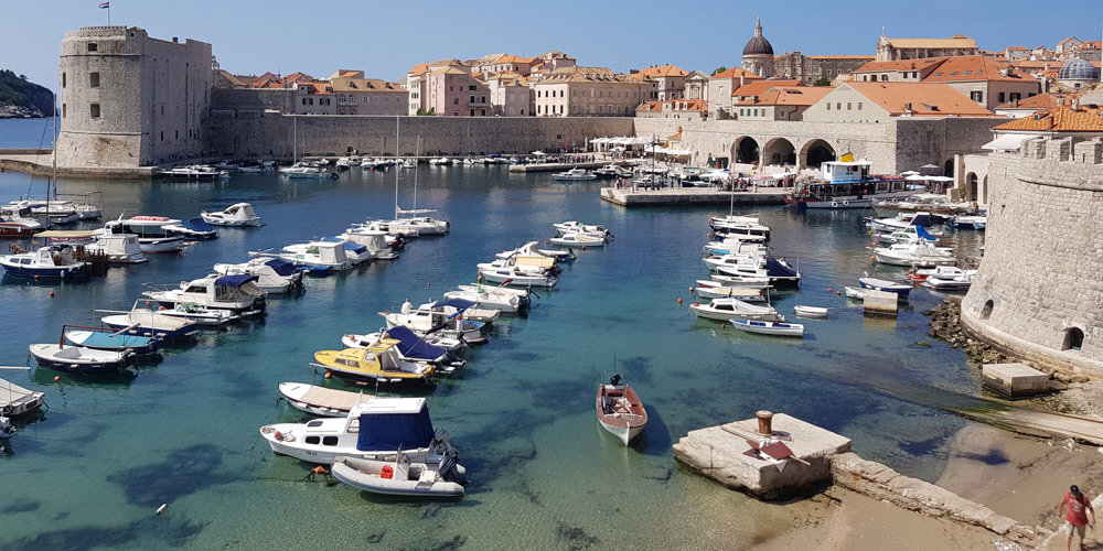 Visiting Dubrovnik on Peter Sommer Travels' eight-day 'Gastronomic Gulet Cruise'