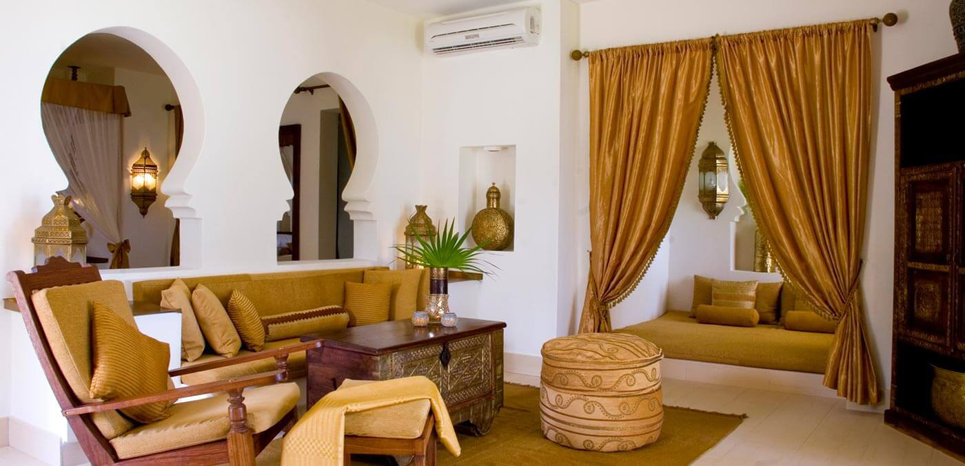 Baraza Resort & Spa seating area