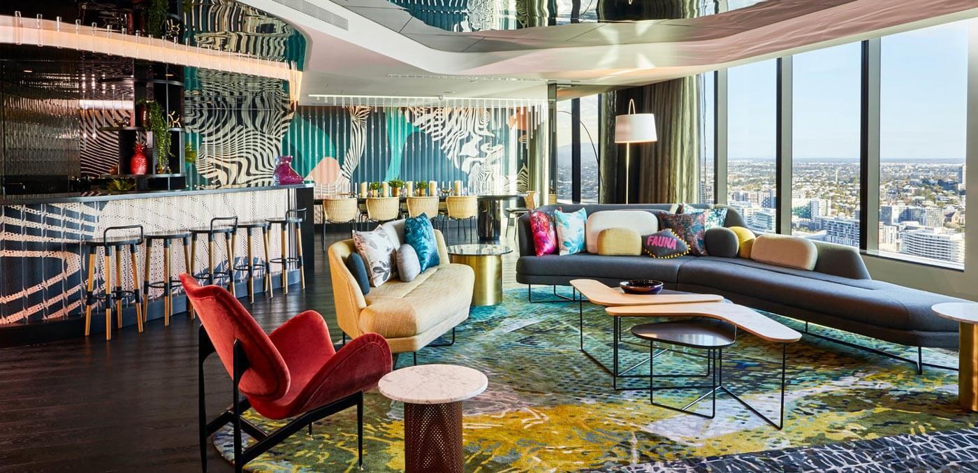 W Brisbane, Extreme WOW Suite, extravagant suites