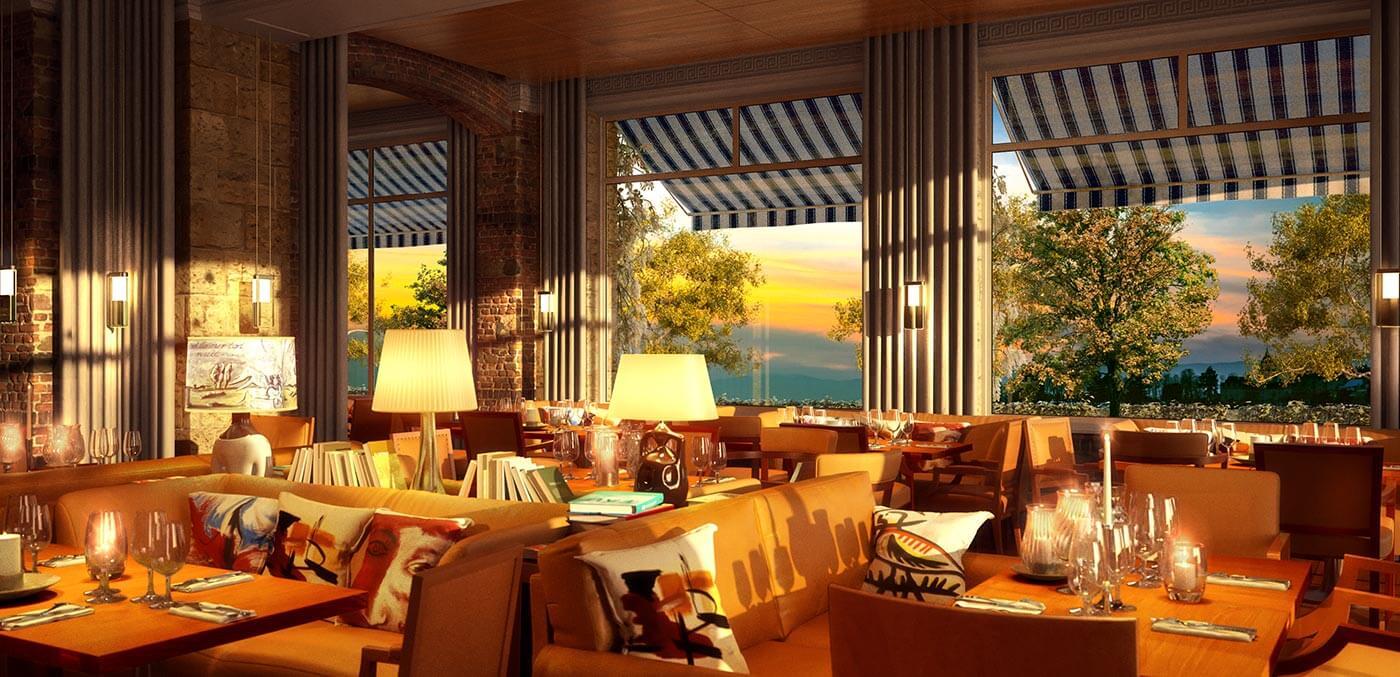 Eden Kitchen & Bar, La Réserve Eden au Lac Zurich
