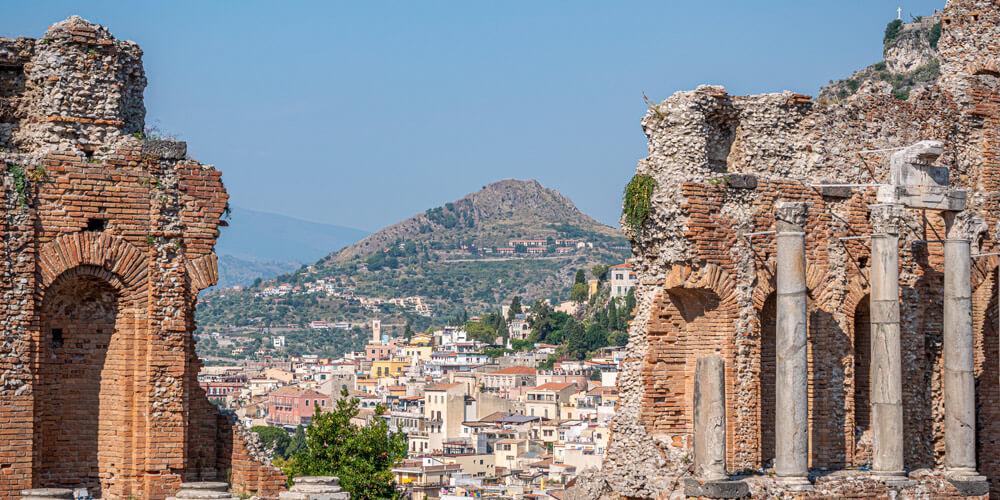 Sicily's Teatro Antico di Taormina