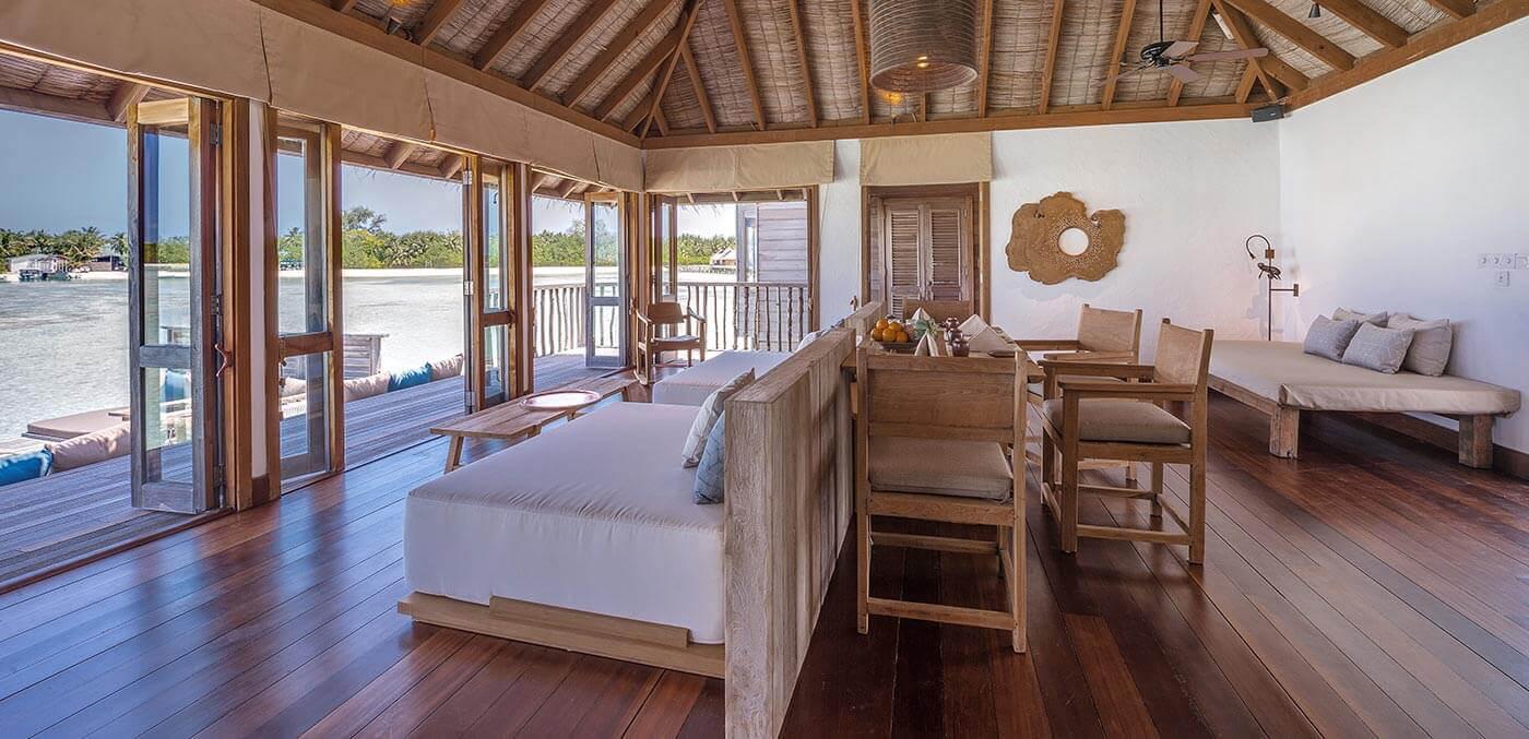 Gili Lankanfushi Residence Living Room