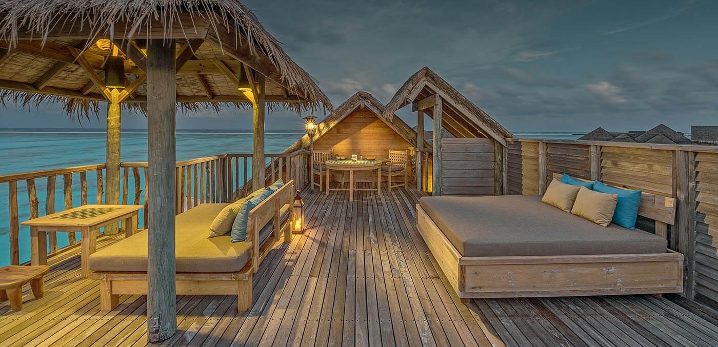 Gili Lankanfushi Rooftop Terrace