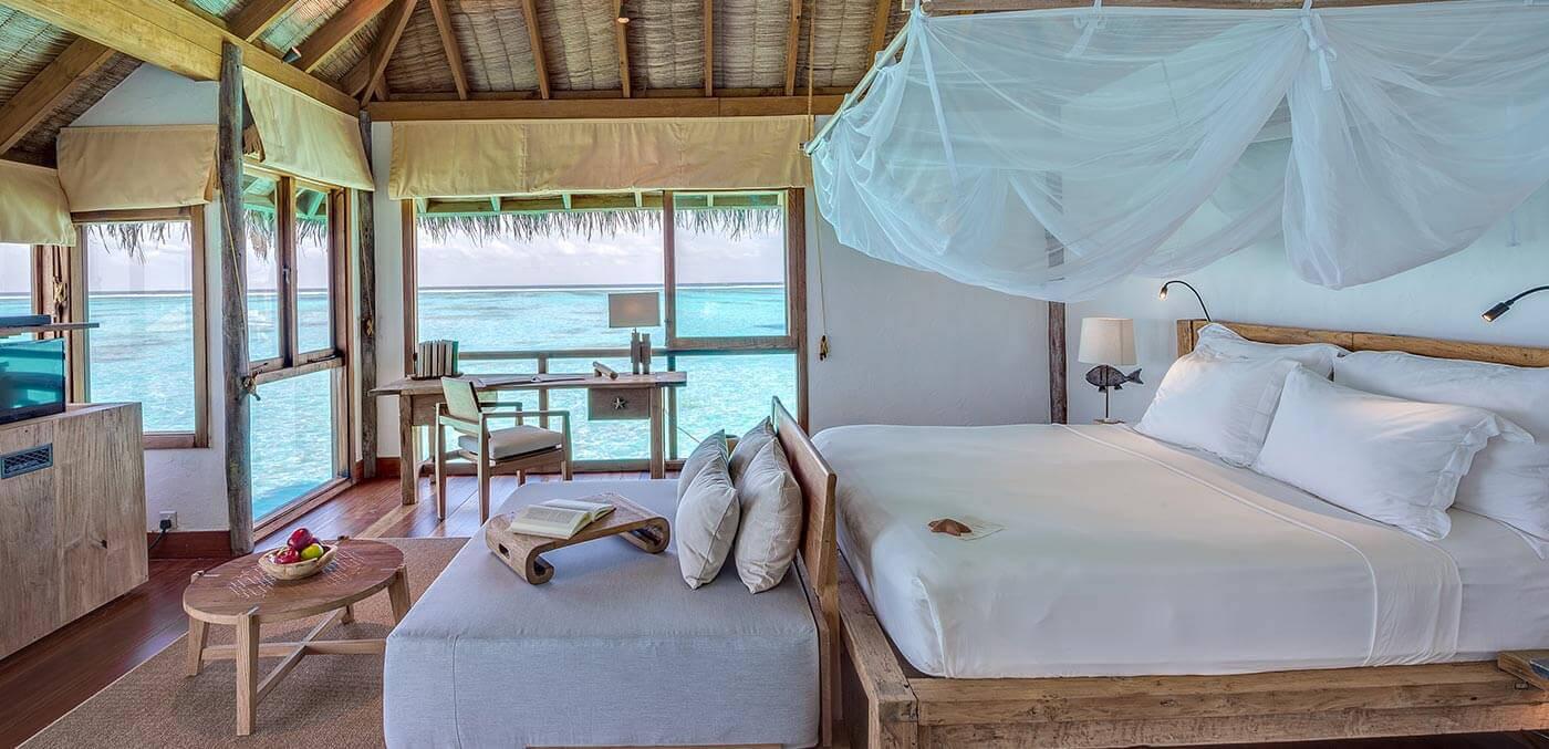 Gili Lankanfushi Villa Suite Bedroom