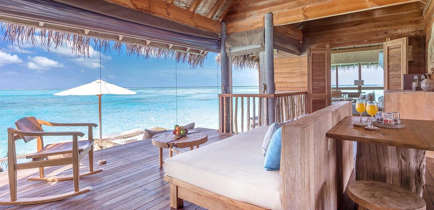 Gili Lankanfushi Villa Suite Living Room