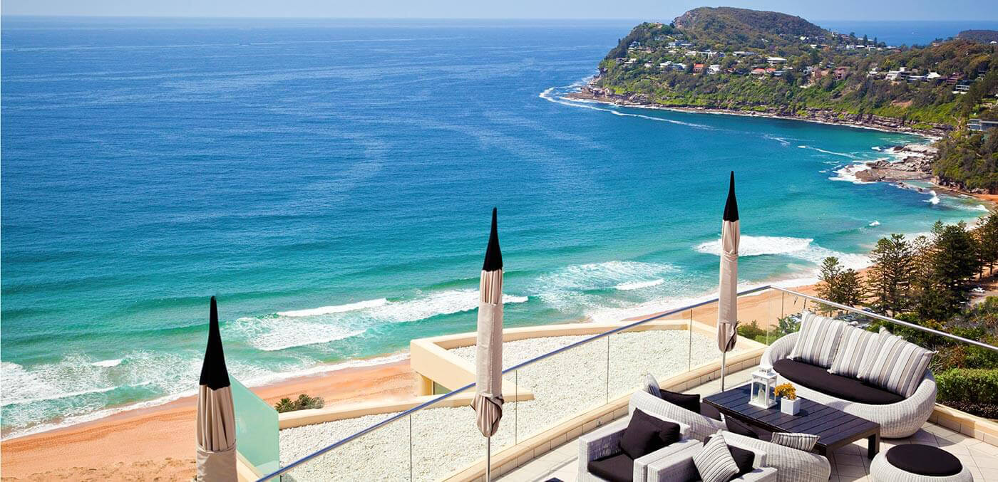 Terrace at Jonah's Restaurant & Boutique Hotel Whale Beach