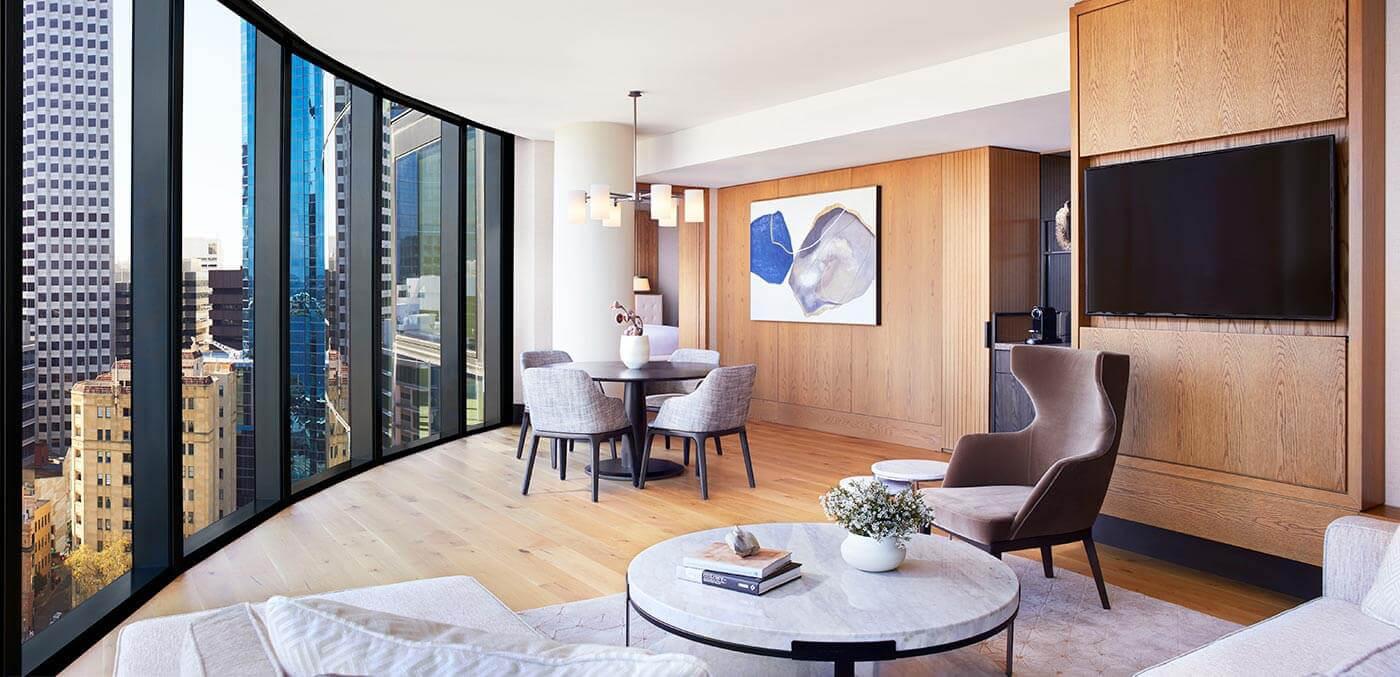 The Ritz-Carlton, Perth Elizabeth Quay Suite