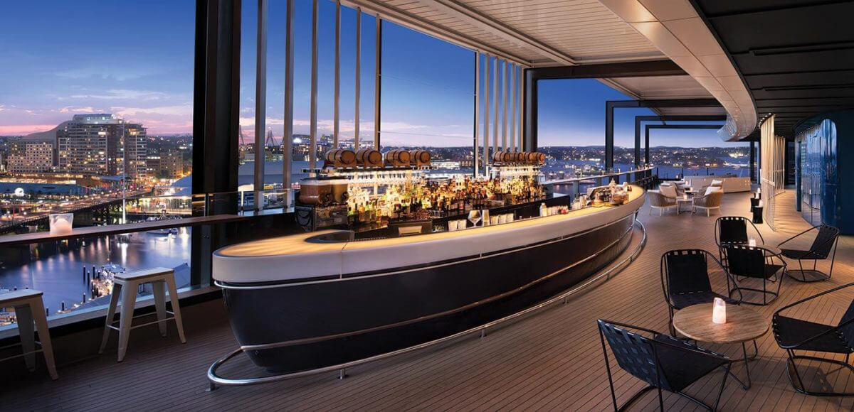 Zephyr Bar at Hyatt Regency Sydney