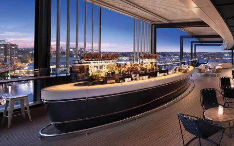 Zephyr Bar at Hyatt Regency Sydney