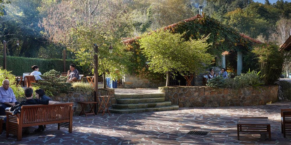 Mugaritz's beautiful setting