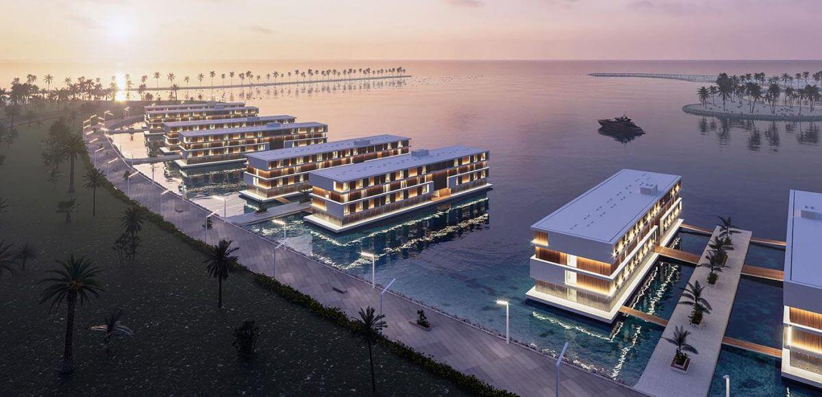 ADMARES floating hotels Qetaifan
