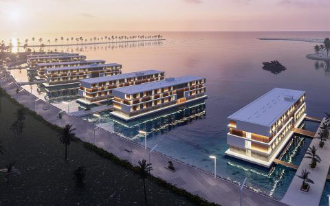ADMARES floating hotels Qetaifan