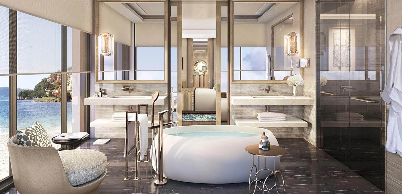 Bathroom at One&Only Portonovi