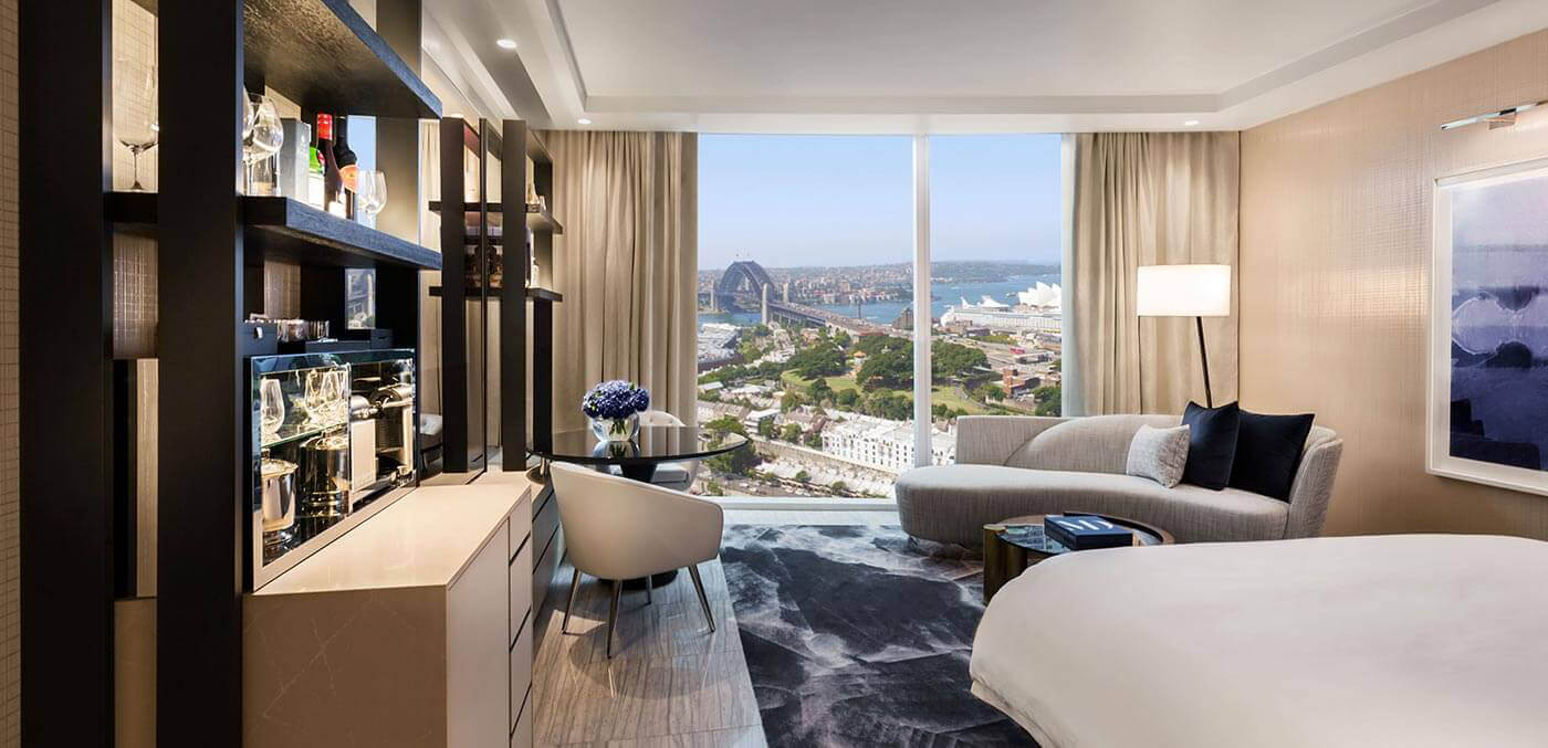Crown Towers Sydney Harbour Bridge King Room