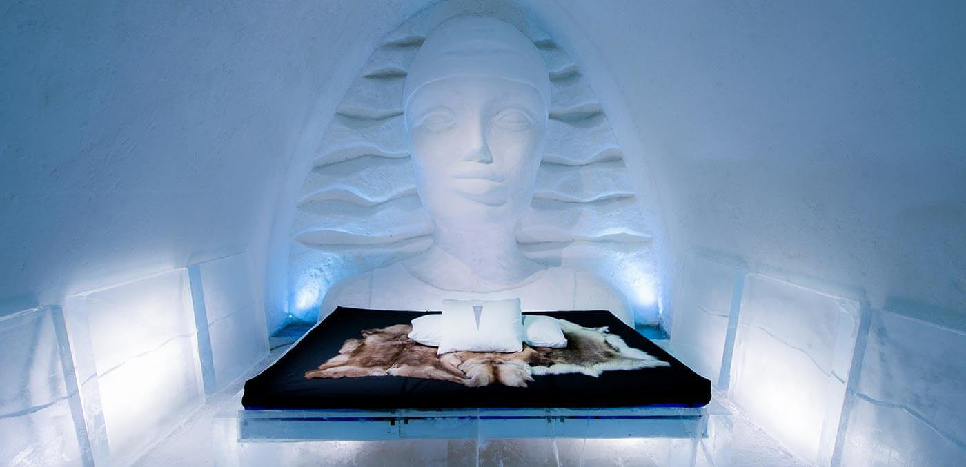 Dining at the Icehotel